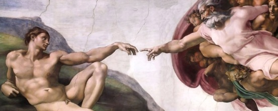 The Creation of Man - Michelangelo Sistine Chapel
