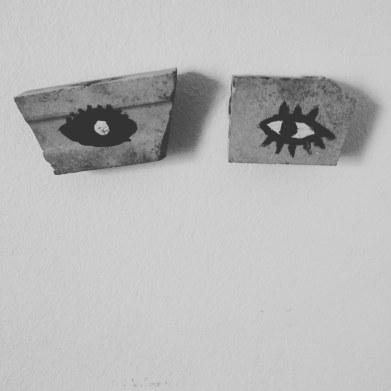Dialogue stones, process sculptures, 2018